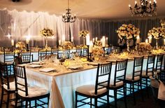 Unique way to light up your event, from under the table