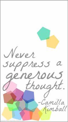 Suppress.