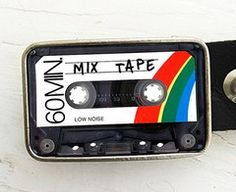 Belt Buckle, Mixed Tape
