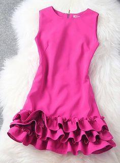 Sleeveless Chiffon Summer Dress