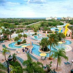 Lazy River Dreamin At Holiday Inn Club Vacations Cape Canaveral Beach Resort Restaurants