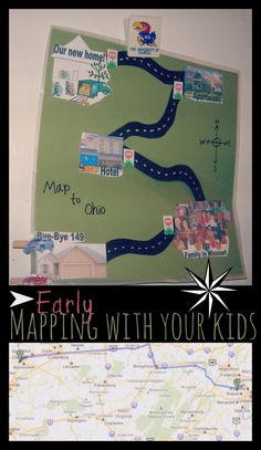 Ideas for using maps with your littlest learners and beyond. #thinkmagnetkids