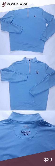 Men's Peter Millar Wicking Long Sleeve 1/4 Zip You are buying aMen's Peter Millar Wicking Long Sleeve 1/4 Zip Pullover Golf Blue Size Small  Excellent to New condition. No stains, rips or obvious wear, smoke and pet free home.  Designer:Peter Millar Style:Casual Condition:Excellent to New condition  Chest(pit to pit ):21 Sleeve Length (shoulder scene to cuff):24.5 Length( collar to hem ):25.5 Peter Millar Jackets & Coats Performance Jackets