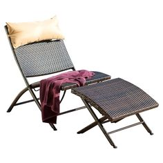 relax and unwind with a cocktail and your latest book club read with this lovely chaise lounge set featuring an allweather wicker frame and adjusu2026
