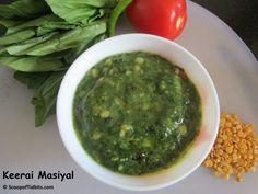 Keerai Masiyal is a simple and healthy dish prepared with mashed greens and cooked dal. Keerai Masiyal also known as Kadanja Keerai (kadanja means mashing