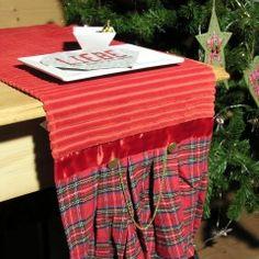 Für den festlich gedeckten Tisch! Tischläufer mit schottischem Flair. Silk, Table, Furniture, Color, Home Decor, Scotland, Keep Running, Decoration Home, Room Decor