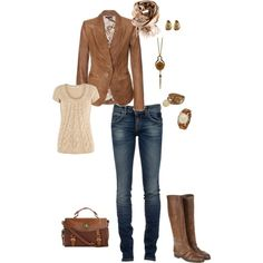 leather jacket 1, created by stacychidaushe.polyvore.com