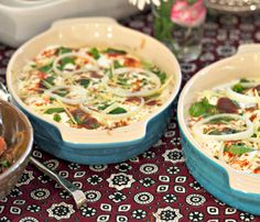 Dahi Baras - lentil fritters w/yogurt