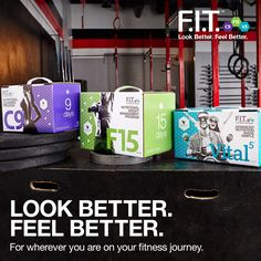 Get to know the new Forever F.I.T. and what you can accomplish with Clean 9, F15 and Vital5. You'll be saying #IAmForeverFIT in no time!