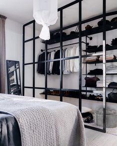 Color Combinations Home, White Interior Design, Interior Ideas, Studio Apartment Design, Checkered Floors, Closet Designs, Cozy Bed, Minimalist Bedroom, Beautiful Bedrooms