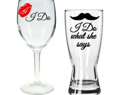 I Do I do what she says READY TO SHIP Personalized by BellaCuttery