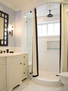 Shower without door - nice design