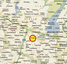 Mappa di Ghedi