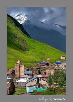 Ushguli village #2 - ushguli,  Georgia Samegrelo and Zemo Svaneti