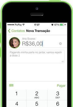 ★ Envie dinheiro para seus amigos como se fosse uma mensagem de WhatsApp com o app PicPay