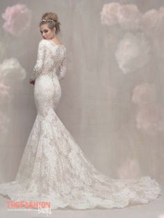 Sleek, chic and glamorous.Allure Bridalsbridal gowns are both modern and classics, incorporating novelty fabrics and exquisite feminine details. The gowns are created for brides that have a refin…