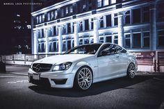 Mercedes-Benz W204 C63 AMG Coupe | BENZTUNING | Performance and Style