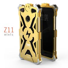 SIMON ZTE Nubia Z11 Mini S Case Metal Armor THOR IRONMAN Aluminum Shockproof Cover Protective Shell Z11 MiniS Phone Housing