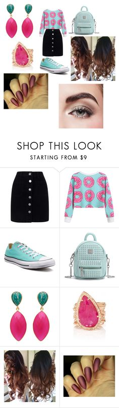 """Untitled #122"" by jasmine-stepter on Polyvore featuring Miss Selfridge, Converse and Avon"