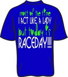 DIRT LIFE Raceday neon printed custom by DaddyRabbitGraphics
