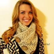 Chunky Cowl/Scarf Button