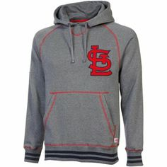 416fad26e St. Louis Cardinals Brush Pullover Hoodie Red Sox Sweatshirt