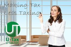 Now, no need to worry about extra tax, U-tax company helps you to minimise your taxes. Our experts are always with you to  claim tax returns.