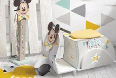 είδη γάμου βάπτισης :  σετ βάπτισης Disney Το εργαστήριό μας σε συνεργασ... Toy Chest, Storage Chest, Toddler Bed, Chair, Toys, Disney, Furniture, Home Decor, Child Bed