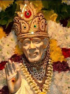 Check out the Top collection of Sai Baba Images, Photos, Pics and HD Wallpapers. Sai baba is perceived as a saint, a satguru & a fakir. Read Interesting facts about Shirdi Sai baba in this post. Hd Wallpapers 1080p, Hd Wallpapers For Mobile, Hd 1080p, Ram Image, Image Hd, Sai Baba Hd Wallpaper, Photo Wallpaper, Ganesh Wallpaper, Beautiful Wallpaper
