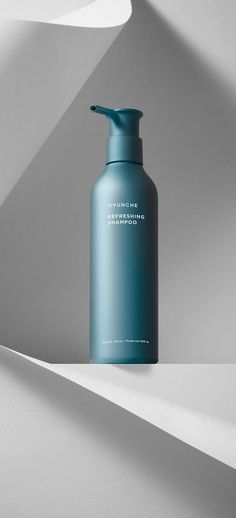 Ayunche Brand Refreshment / Amos Professional, 2021 / Deigned by Jiyoun Kim Studio™ - Jiyoun Kim, Hannah Lee, Dokyoung Lee / www.jiyounkim.com Hannah Lee, Shampoo, Water Bottle, Color, Beauty, Colour, Water Bottles, Beauty Illustration, Colors