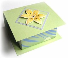 Origami Wrap Lid Box