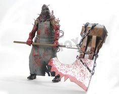 """Christmas Free Shipping 1pcs NECA Resident Evil Biohazard Executioner Majini 7"""" PVC Action Figure Collectible Model Toy Gift"""