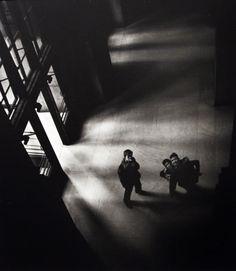 Larry Silver: Penn Station, 1951