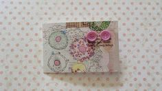 purple button post earrings £2.20
