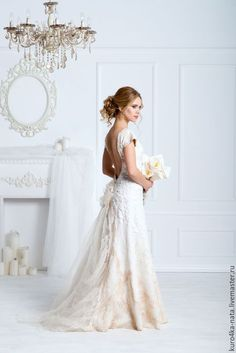 Felted wedding dress | Одежда и аксессуары ручной работы. Ярмарка Мастеров - ручная работа. Купить Авторское валяное Свадебное платье