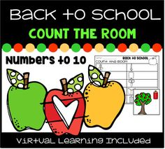 Back to School Count the Room Numbers to 10 ... by LoveMariel | Teachers Pay Teachers
