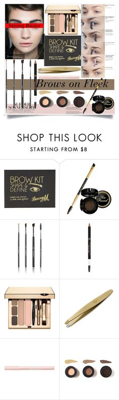 """""""Strong Brows"""" by diana-franc ❤ liked on Polyvore featuring beauty, River Island, Sigma Beauty, Clarins, Sania's Brow Bar, Bourjois, BeautyTrend, YSL, strongbrows and boldeyebrows"""