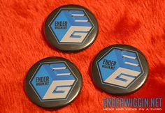 EnderWiggin.net pins and magnets