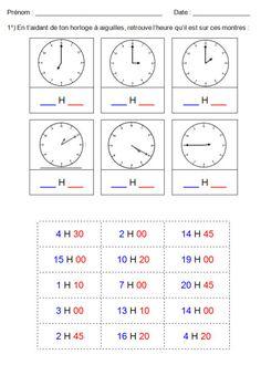 1000 id es sur le th me activit s pour dire l 39 heure sur - Peut on se doucher pendant les regles ...