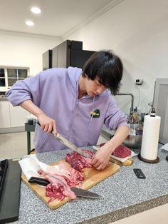 Seokjin, Namjoon, Taehyung, Bts Jin, Bts Bangtan Boy, Bangtan Twitter, Jimin Jungkook, Jung Hoseok, Cooking