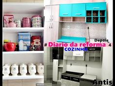 4 #Diario da reforma  decorando a cozinha... - YouTube