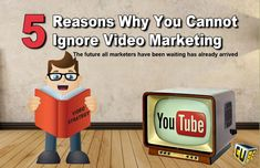 Video Marketing 2018 - 5 Reasons Why You Cannot Ignore It - The Visual Cube® Learning Centers, Startups, Entrepreneurship, Success, Marketing, Education, Onderwijs, Learning