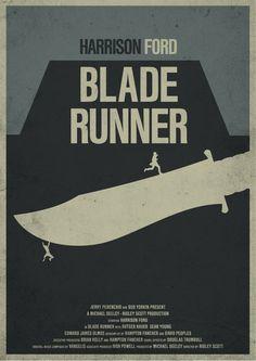 Blade Runner / Minimal Movie Posters