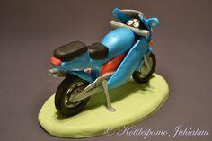Fondant motorbike