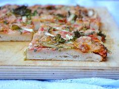Focaccia alla messinese senza glutine - Gluten free italian bread