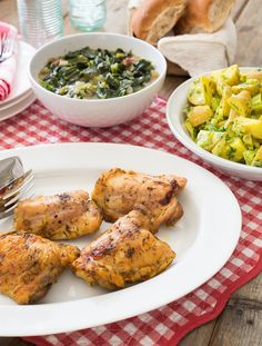 Spicy Oven-Baked Chicken #protein #MyPlate #WhatsCooking