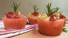 Muffin allo speck e profumo di rosmarino