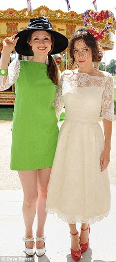 03a83efb0f Famous faces  Sophie Ellis-Bextor and Anna Friel were also at the iconic  races