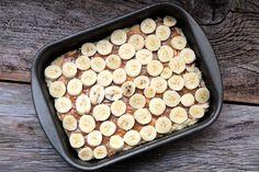 Cuca alemã de banana e doce de leite   Mel e Pimenta Food Cakes, My Recipes, Cake Recipes, Griddles, Griddle Pan, Cookies, Vegetables, Kitchen, Rita Lobo