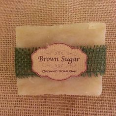 Handmade Organic & Natural Bar Soap: Rosemary Frank & Mint  4.5 Oz. by Brown Sugar Natural Beauty on Opensky